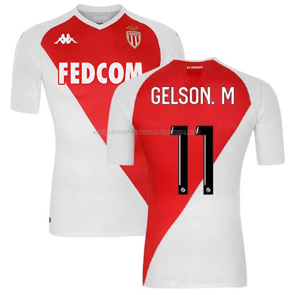 maillot gelson martins as monaco 1ème 2020-21