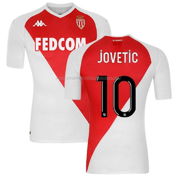 maillot jovetic as monaco 1ème 2020-21
