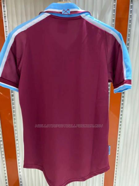 maillot rétro west ham united 1ème 1999-2000