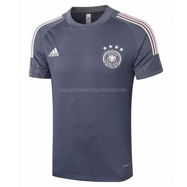 maillot training allemagne gris 2020