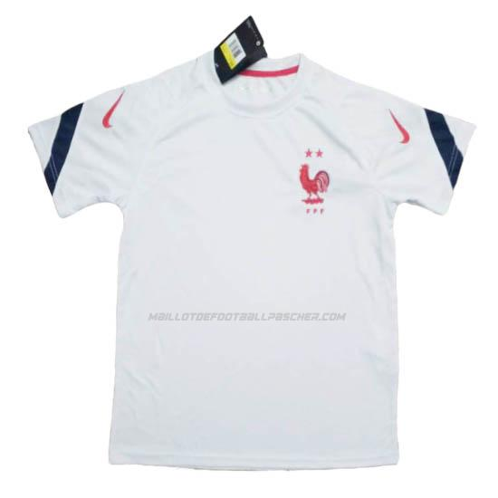 maillot training france blanco 2020-21