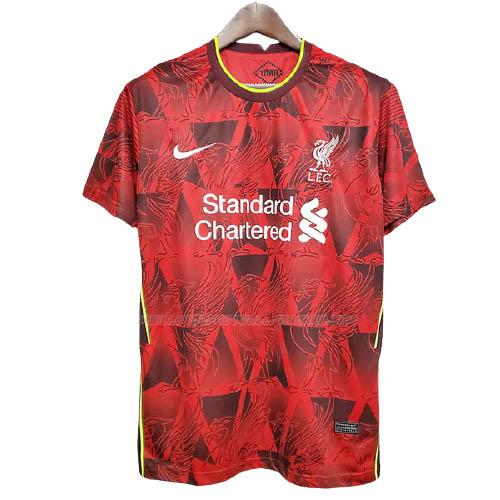 maillot training liverpool rouge 2021