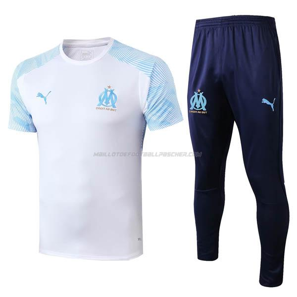 maillot training marseille blanc 2019-2020