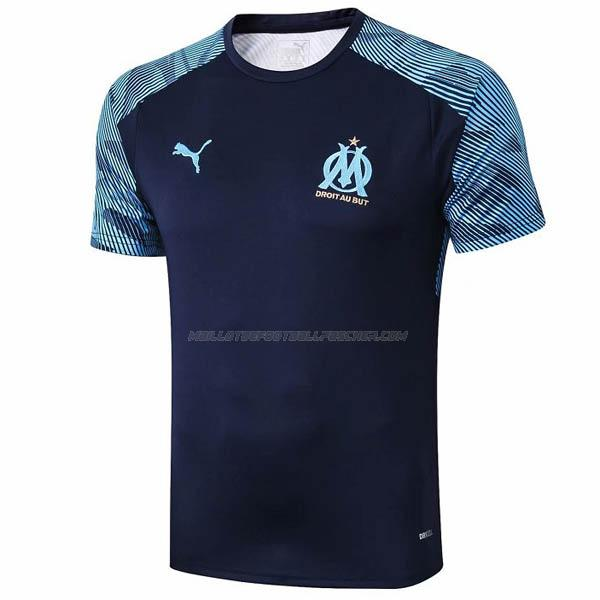 maillot training marseille bleu 2019-2020