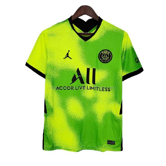 maillot training paris saint-germain vert 2021