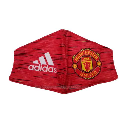 masque de protection manchester united rouge 2020-21