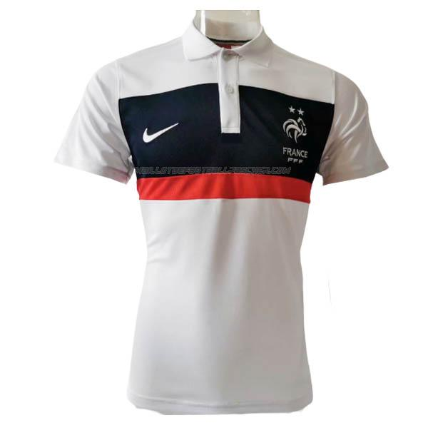 polo france bianco 2020
