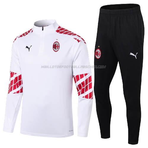 survetement ac milan blanc 2020-21