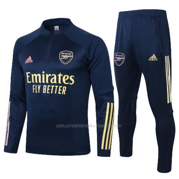 survetement enfant arsenal bleu marine 2021