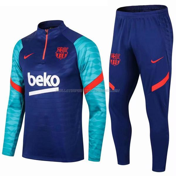 survetement enfant barcelona i blues 2021