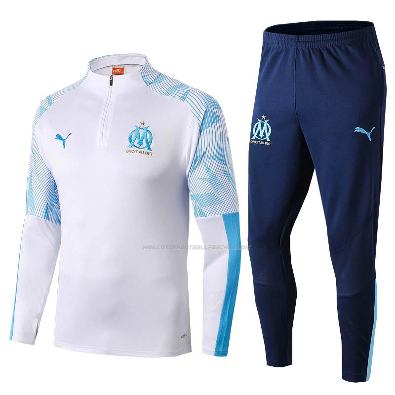 survetement marseille blanc 2019-2020