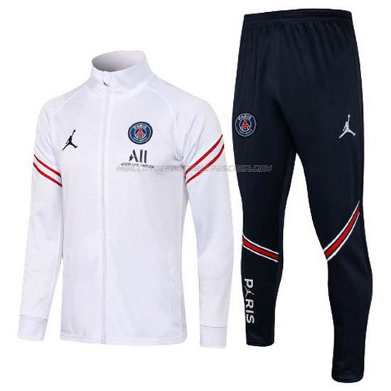 veste aj paris saint-germain blanc 2021