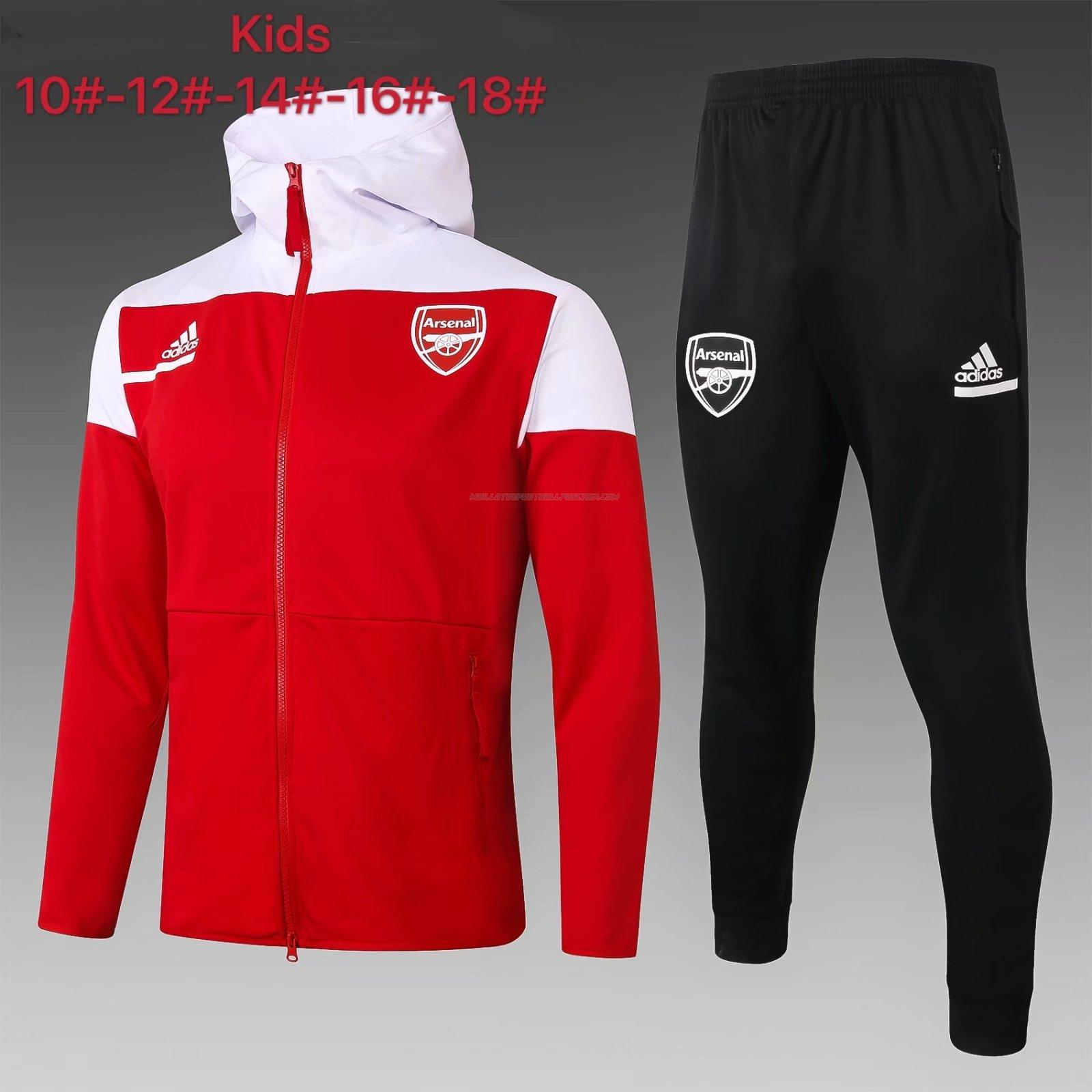 veste enfant arsenal rouge 2021